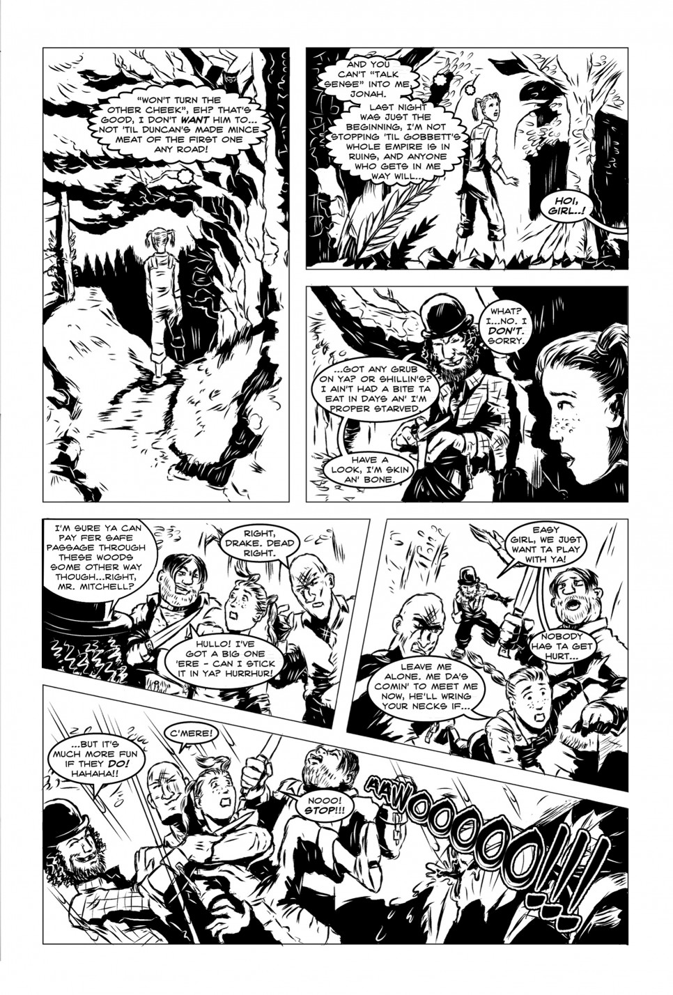 Vanguard! Issue 2, Mammoth-Jack!, page 2