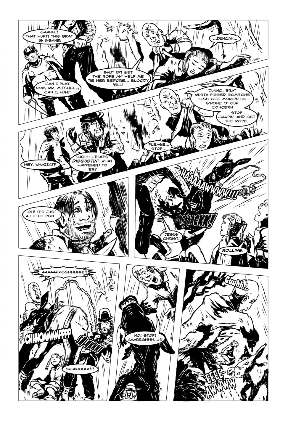 Vanguard! Issue 2, Mammoth-Jack!, page 5