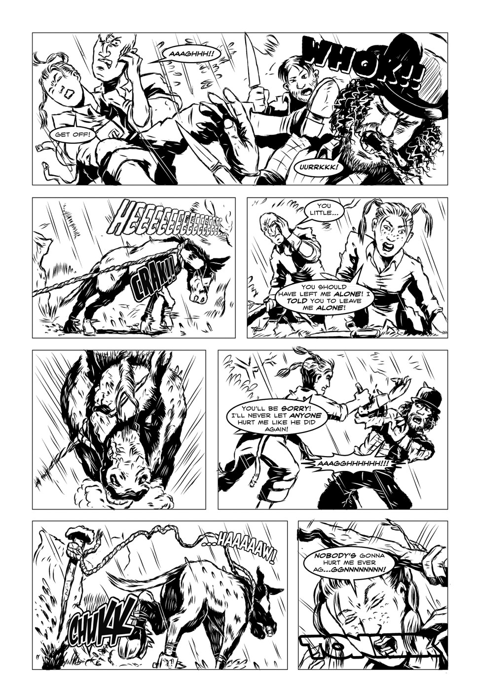 Vanguard! Issue 2, Mammoth-Jack!, page 4
